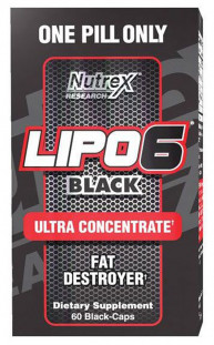 Nutrex Lipo - 6 Black Ultra Concentrate (60 кап)