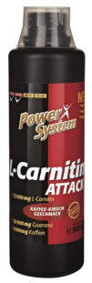 Power System L-Carnitine Attack 3600 72000 мг (500 мл)